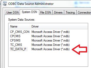 Double Click TC_DATA_P